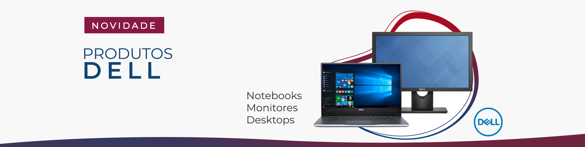 Produtos Dell - Notebook, Monitor, Desktop